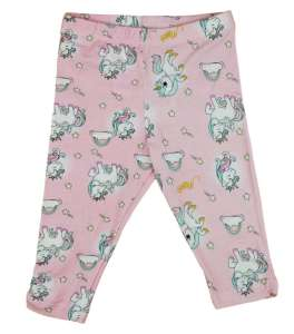 e7e3a5d6d2 Unicorn Queen Unikornis lányka elasztikus pamut nadrág 30765661 Gyerek  nadrág, leggings