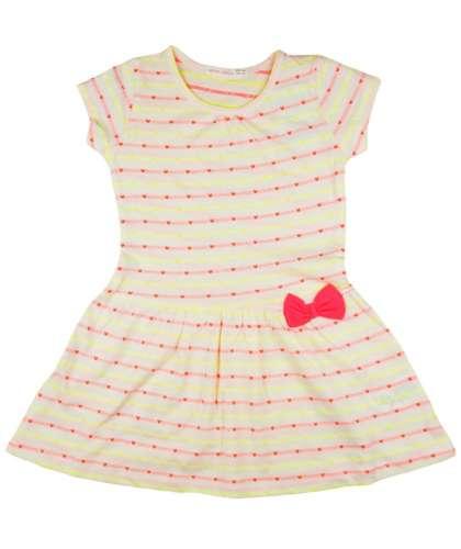 02de473215 Kislány nyári ruha apró neon szívekkel | Pepita.hu