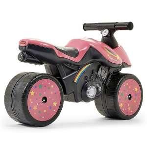 Falk Rainbow lábbal hajtós Kismotor #rózsaszín 30770170 Bébitaxi, kismotor