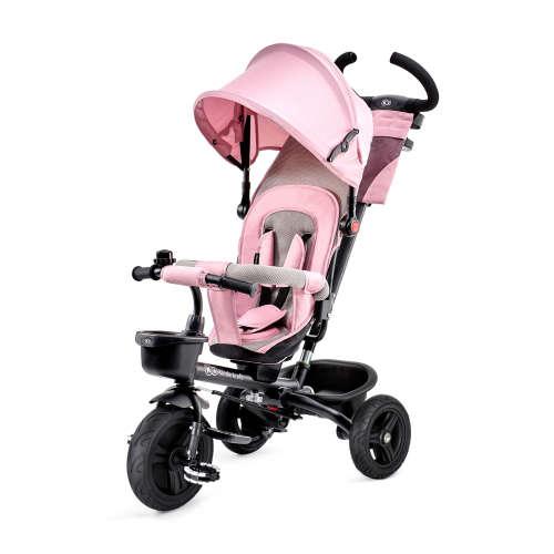 Kinderkraft Aveo 360°-ban megfordítható Tricikli #rózsaszín
