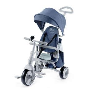 Kinderkraft Jazz 4in1 összecsukható Tricikli #kék 30770700 Kinderkraft Tricikli