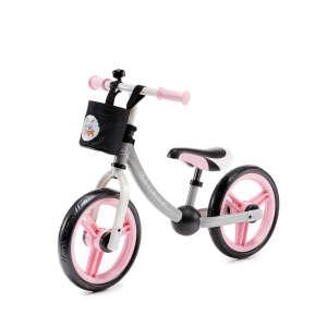 Kinderkraft 2Way Next Futóbicikli #rózsaszín-szürke 30770730 Futóbicikli