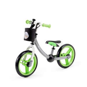 Kinderkraft 2Way Next Futóbicikli #zöld-szürke 30770754 Futóbicikli