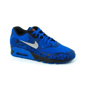 0dd2ab7880 Nike Air Max 90 Cr7 Fb Gs fiú Sportcipő #kék-fekete 30774406 Utcai -