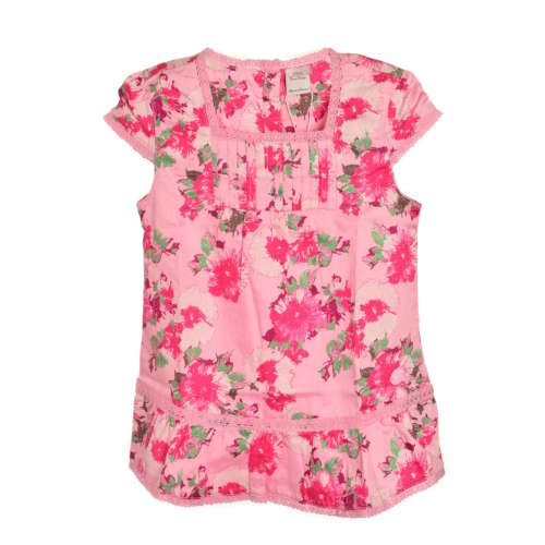 S. Oliver rövid ujjú Blúz - Virág #rózsaszín