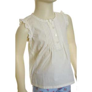 Alkalmi Lány Blúz #fehér 31208431 Alkalmi és ünneplő ruha