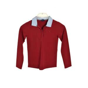 Gant galléros Hosszú ujjú póló #bordó 31204519 Gyerek hosszú ujjú póló
