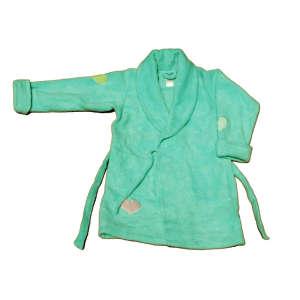 Lány Köntös - Szív #zöld 31204049 Fürdetési kellékek