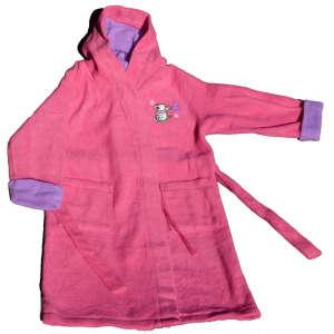 Kapucnis lány Köntös - Maci #rózsaszín 31207304 Fürdetési kellékek