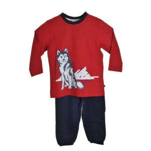 Sanetta fiú Pizsama #fekete-piros 31069596 Gyerek pizsama, hálóing