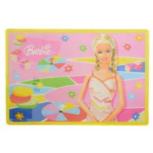 Műanyag Alátét - Barbie #rózsaszín 31220412 Etetési kiegészítő