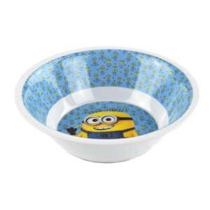 Műanyag Mélytányér - Minion #kék 31220330 Tányér, evőeszköz, étkészlet