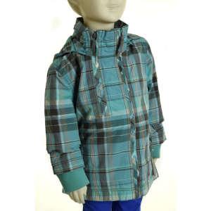 S.Oliver lány Kabát - Kockás #kék 31072396 Gyerek dzseki, kabát