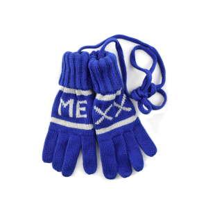 Kék Mexx fiú kesztyű – XS 31208371 Gyerek kesztyű