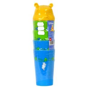 Műanyag Pohár - Micimackó #kék-zöld 31324638 Itatópohar, pohár, kulacs