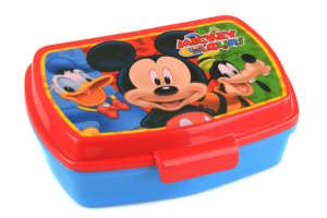 Uzsonnás doboz - Mickey egér #kék-piros 30813096 Étel-Ital tároló