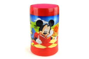 Piknikes műanyag Pohár - Mickey, Minnie egér #piros 30814170 Itatópohar, pohár, kulacs