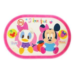 Műanyag Alátét - Minnie és Daisy #rózsaszín 31220765 Etetési kiegészítő