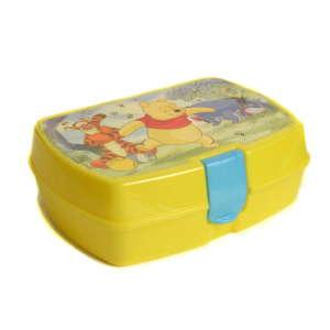 Uzsonnás doboz - Micimackó #sárga 31220356 Étel-Ital tároló