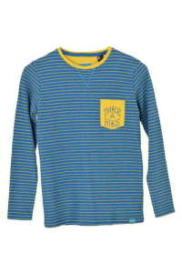 O'neill Hosszú ujjú póló - Csíkos #kék 30855472 Gyerek hosszú ujjú póló