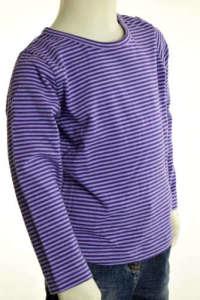 Hosszú ujjú póló - Csíkos #lila 30854946 Gyerek hosszú ujjú póló