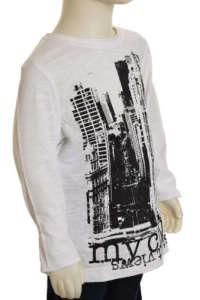 Hosszú ujjú póló #fehér 30854928 Gyerek hosszú ujjú póló