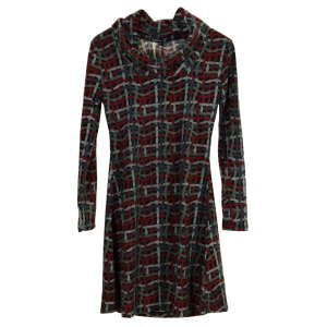 Smashed Lemon mintás, fekete női ruha – M 31070747 Női ruha