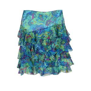 Ralph Lauren kék, mintás selyem női szoknya – 34 31070494 Női szoknya