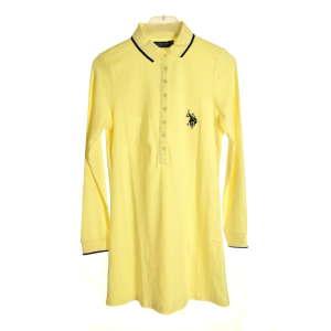 U.S.P.A. pasztell sárga pamut női ruha 31070573 Női ruha