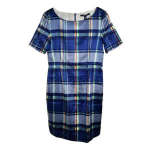 Gant kék kockás női selyem ruha 31070683 Női ruha