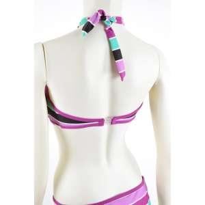 s. Oliver színes csíkos női bikini 31070496 Női fürdőruha