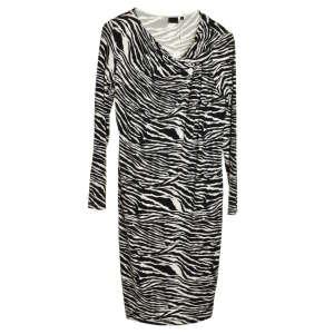 InWear zebra mintás, hosszú ujjú női ruha – M 31070652 Női ruha