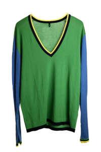 Benetton férfi Pulóver #zöld