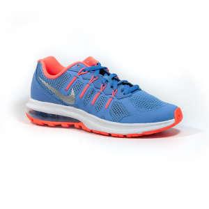 Nike Air Max Dynasty Gs Junior Lány Futócipő #kék-narancs 30786842 Gyerekcipő sportoláshoz