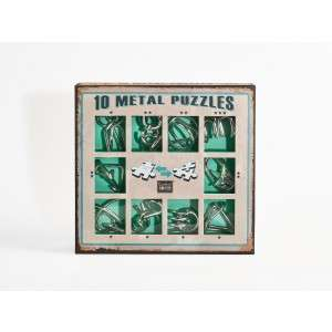 10 Metal Puzzle Set - zöld 30787309 Logikai játék