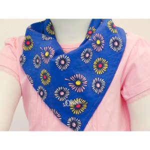 s.Oliver Nyálkendő - Virág #kék 31064818 Nyálkendő