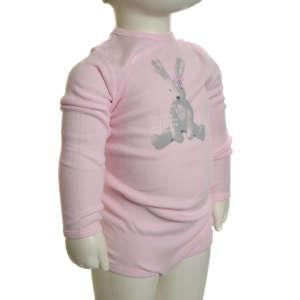 Hosszú ujjú Body – Nyuszis #rózsaszín 31064572 Body