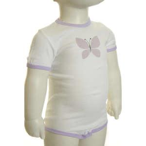 Lányka Body #lila - fehér 31064332 Body