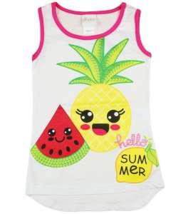 Lányka trikó nyári gyümölcs mintákkal 30787834 Gyerek trikó, atléta