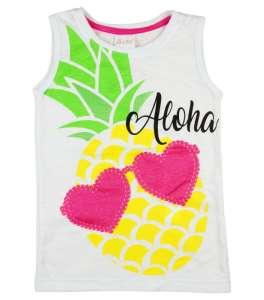 Lányka trikó ananász mintával 30787836 Gyerek trikó, atléta