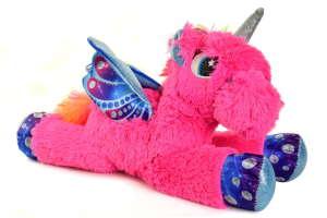 Paws csillogó, lepke szárnyú unikornis plüssök – pink 30813549 Plüss