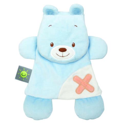 Nattou plüss Szundikendő - Medve #kék 30789182