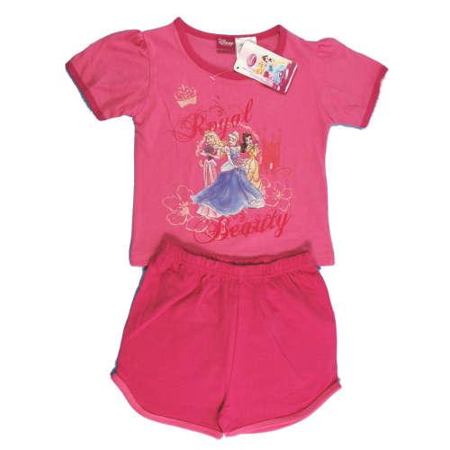 Lány, rózsaszín Hercegnős nyári pizsama, rövid ujjú Rövidnadrágos 2T 31208088