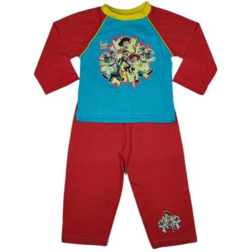 Fiú, piros hosszú ujjú Toy story pizsama 31207847