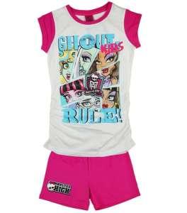 2 részes lányka Szett - Monster High #rózsaszín-fehér 30789577 Ruha együttes, szett gyerekeknek