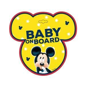 Baby on board tábla - Mickey 30789628 Baby on board jelzés