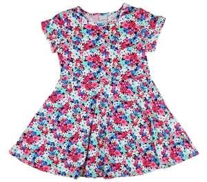 a2c2de7ed6 Lányka rövid ujjú nyári ruha virágokkal (TUR) 30789904 Kislány ruhák