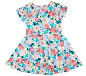 b3a4b5251b Lányka rövid ujjú nyári ruha virágokkal (TUR) 30790214 Kislány ruhák