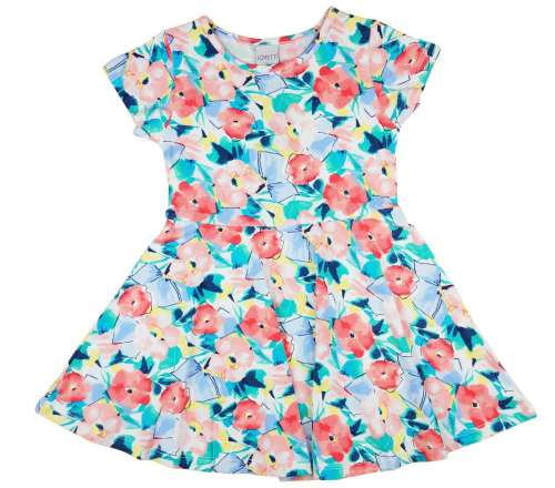 093f23acb5 Lányka rövid ujjú nyári ruha virágokkal (TUR) | Pepita.hu