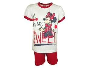 Disney 2 részes  Szett - Minnie Mouse #fehér-piros 30790365 Ruha együttes, szett gyerekeknek